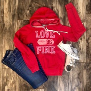 Victoria's Secret PINK hoodie. Pink.